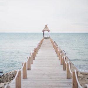 Brücke ans Meer - Bild zum Blogthema Resilienz
